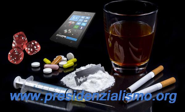 DROGA, PROSTITUZIONE E GIOCO D'AZZARDO